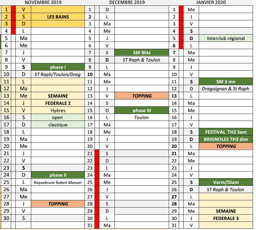 Calendrier Mondial 2020.Tournois Novembre 2019 Janvier 2020 Scrabble Comite